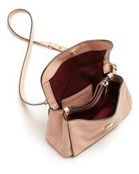 Marc Jacobs - Pink Mini Boho Grind Leather Crossbody - Lyst