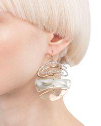 Alexis Bittar - Multicolor Pavé Spiral Drop Earrings - Lyst