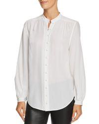 Equipment - White Cornelia Silk Shirt - Lyst