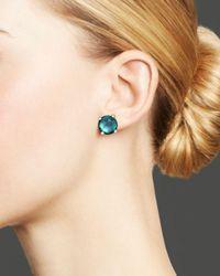 Ippolita Rock Candy® Sterling Silver Mini Stud Earrings With Blue Topaz