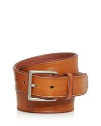 Frye Brown Men's Jones Leather Belt for men