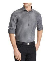 Polo Ralph Lauren - Gray Standard Fit Cotton Button-down Shirt for Men - Lyst