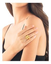 John Hardy - Metallic Bamboo 18k Yellow Gold Knot Ring - Lyst