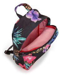 Herschel Supply Co. Black Grove Pineapple-print Canvas Backpack