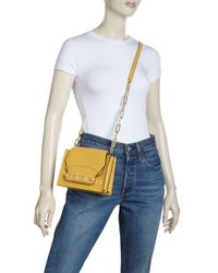 Zac Zac Posen Metallic Katie Chain Crossbody