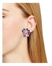Kate Spade - Multicolor Statement Stud Earrings - Lyst