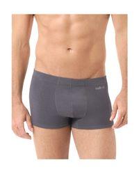 Naked - Gray Luxury Stretch Micromodal Trunks for Men - Lyst