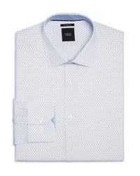 W.r.k. - White Matchstick Print Slim Fit Dress Shirt for Men - Lyst