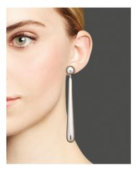 Ippolita Metallic Glamazon® Sterling Silver Elongated Tear Drop Earrings