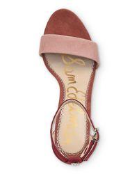 Sam Edelman Pink Women's Yaro High - Heel Sandals