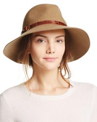 Eric Javits Brown Wide Brim Hat
