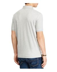 Polo Ralph Lauren | Gray Classic Fit Soft-touch Polo Shirt for Men | Lyst