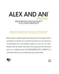 ALEX AND ANI Metallic Precious Metals Symbolic Feather Pull Chain Bracelet