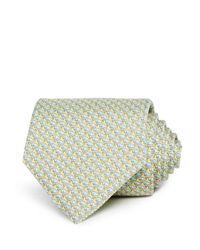 Vineyard Vines Yellow Whale Classic Tie for men
