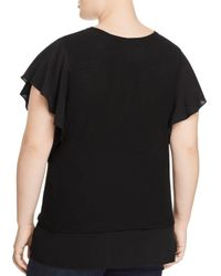 Vince Camuto Signature Black Layered - Look Top
