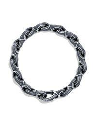 David Yurman | Metallic Armory Figure-eight Large Link Bracelet for Men | Lyst