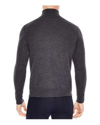 Sandro - Gray Turtleneck Sweater for Men - Lyst
