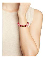 Rebecca Minkoff - Pink Lola Friendship Bracelet - Lyst
