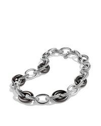 David Yurman - Metallic Oval Extra Large Link Necklace - Lyst
