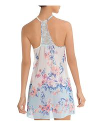 Jonquil - Multicolor In Bloom By Chiffon Chemise - Lyst