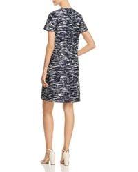 Tory Burch - Blue Dina Printed Shift Dress - Lyst