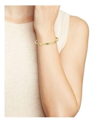 Kate Spade Metallic Wave Bangle