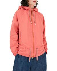 Woolrich Pink John Rich & Bros Erie Windbreaker Jacket
