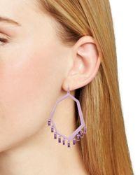 Kendra Scott - Multicolor Thomas Geo Chandelier Earrings - Lyst