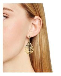 Argento Vivo   Metallic Lace Teardrop Earrings   Lyst