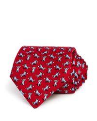 Vineyard Vines - Red Bull And Bear Tie for Men - Lyst