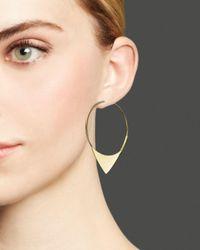 Lana Jewelry - Metallic 14k Yellow Gold Small Magic Elite Hoop Earrings - Lyst