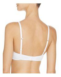 Fine Lines - White J-hook T-shirt Bra - Lyst
