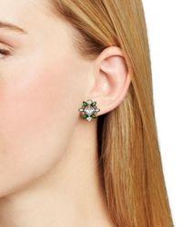 Sorrelli - Metallic Starburst Cluster Stud Earrings - Lyst