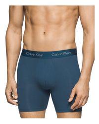 Calvin Klein | Blue Body Modal Boxer Briefs for Men | Lyst