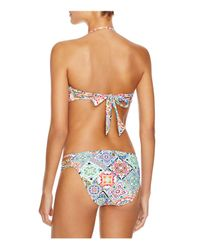 Nanette Lepore - Multicolor Greek Tiles Hipster Bikini Bottom - Lyst
