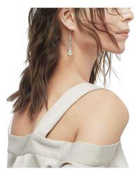 John Hardy - Metallic Sterling Silver Bamboo Cultured Freshwater Pearl Long Drop Earrings - Lyst