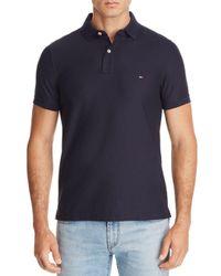 Tommy Hilfiger Blue Core Slim Fit Polo Shirt for men