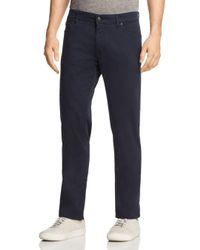 BOSS - Blue Maine Regular Fit Twill Pants for Men - Lyst