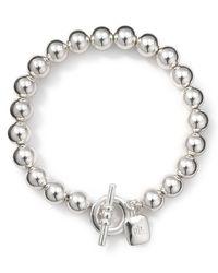 Pink Pony   Metallic Lauren Bracelet - Beaded Bracelet   Lyst