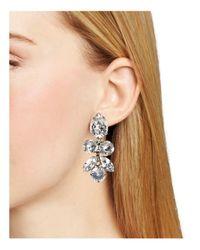 Sorrelli - Metallic Lotus Bloom Swarovski Crystal Drop Earrings - Lyst