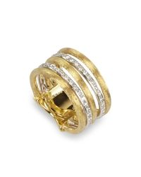 Marco Bicego   Metallic Diamond Jaipur Link 5-strand Band Ring   Lyst