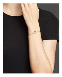KC Designs | Metallic Diamond Circle Bangle In 14k Yellow Gold | Lyst