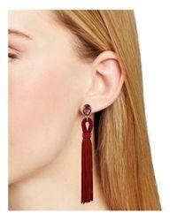 Aqua - Multicolor Randi Fringe Earrings - Lyst
