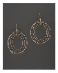 Lana Jewelry - Metallic 14k Yellow Gold Golden Globe Earrings - Lyst