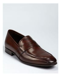 To Boot Brown Senato Penny Loafer for men