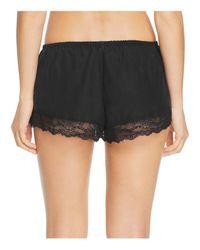 Eberjey Black X Rebecca Taylor Lou Shorts