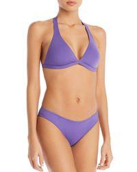 Vilebrequin Purple Flavia Bikini Top