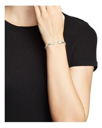Ippolita - Metallic 18k Yellow Gold Rock Candy Mixed Doublet Hinged Bangle In Raindrop - Lyst
