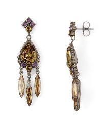 Sorrelli - Multicolor Dangling Post Earrings - Lyst