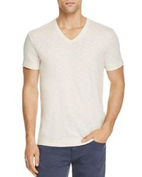 Theory Multicolor Gaskell V-neck Tee for men